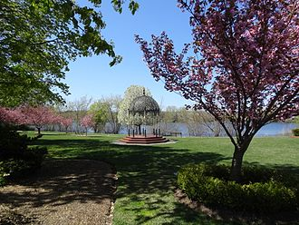 Melrose, Massachusetts - The Gazebo at Ell Pond Park