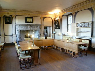 Argyll's Lodging - The High Dining Room