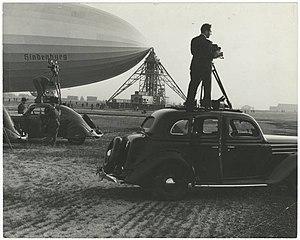 Robert Yarnall Richie - Image: The Hindenburg by Richie