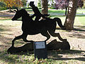 The Horseman memorial, Albert Park.jpg