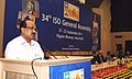 The Minister of State (Independent Charge) for Consumer Affairs, Food and Public Distribution, Professor K.V. Thomas addressing the 34th General Assembly of International Organization for Standardization, in New Delhi.jpg