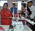 The Minister of State for Textiles (Independent Charge), Shri Santosh Kumar Gangwar visiting after inaugurating the Apparel and Garment Making Centre, at the Industrial Growth Centre, in Aizawl, Mizoram (1).jpg
