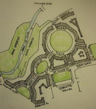 Moray Estate - The Moray Estate in Edinburgh