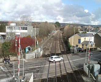 Pencoed - Image: The NE half of Pencoed railway station geograph.org.uk 2270003