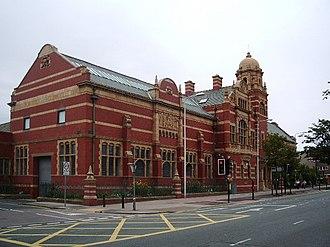 Furness Academy - Image: The Nan Tait Centre, Barrow