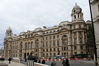 War Office - The former War Office building facing Horse Guards Avenue.