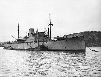 Northern Barrage - Image: The Royal Navy during the Second World War A9986