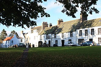Gifford, East Lothian - The Tweeddale Arms Hotel, Gifford, East Lothian