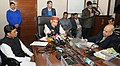 The Union Minister for Agriculture and Farmers Welfare, Shri Radha Mohan Singh holding the Press Conference to brief the achievements of the Ministry, in New Delhi (1).jpg