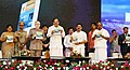 The Vice President, Shri M. Venkaiah Naidu releasing the Book of Abstracts on the 11th Indian Fisheries and Aquaculture Forum, in Kochi, Kerala.jpg