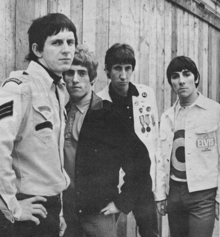 The group pictured in 1965