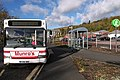 The bus stop by the ASDA car park in Galashiels - geograph.org.uk - 1611096.jpg