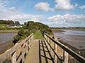 The causeway bridge over the estuary of the Ardilea River - geograph.org.uk - 2190670.jpg