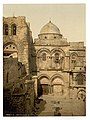 The front of the Holy Sepulchre, Jerusalem, Holy Land-LCCN2002725003.jpg