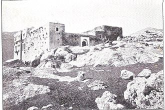 Kabbalah - The grave of Shimon bar Yochai in Meron before 1899. A Talmudic Tanna, he is the mystical teacher in the central Kabbalistic work, the Zohar