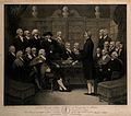 The inaugural meeting of the Medical Society of London in th Wellcome V0006847.jpg