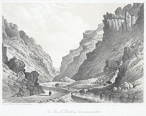 The pass of Llanberris, Caernarvonshire