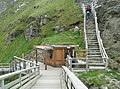 The ticket office, Tintagel Castle - geograph.org.uk - 1383994.jpg