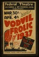 "The tuneful musical hit! ""Vodvil frolic"" of 1937 - direct from Hollywood LCCN98517794.tif"