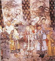 Theatre actors, Yuan Dynasty