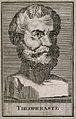 Theophrastus. Line engraving. Wellcome V0005783.jpg