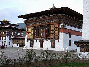 Thimpu Trashi Chhoe Dzong innen
