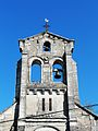 Thiviers église Pierrefiche clocher.JPG