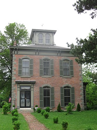 Capt. Thomas C. Harris House - The Harris House, also known as the Parrish Place