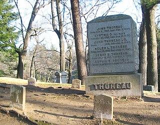 Sleepy Hollow Cemetery (Concord, Massachusetts) cemetery in Concord, Massachusetts