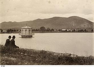 Paradise, South Australia - Thorndon Park Reservoir in 1899