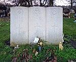 Three CWGC graves, Toxteth Park Cemetery.jpg