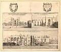 Three views on one plate of the Priory of St John of Jerusalem in Clerkenwell by Wenceslaus Hollar.jpg