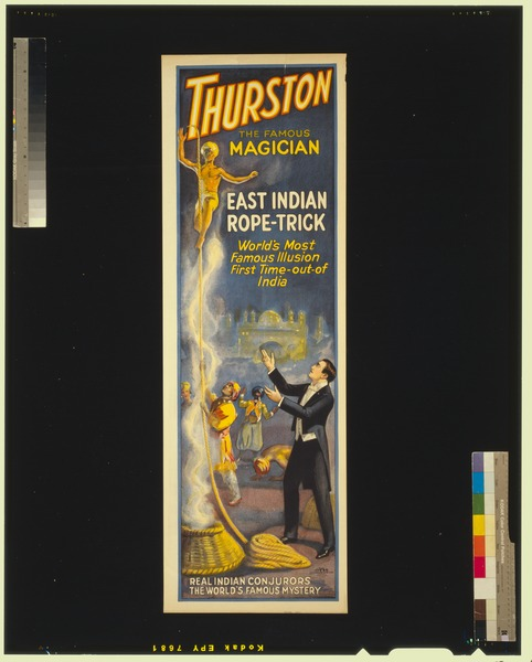 File:Thurston, the famous magican - East Indian Rope Trick - original scan.tiff