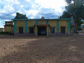 Thiruvaiyaru - Image: Thyagaraja samadhi in Thiruvaiyaru