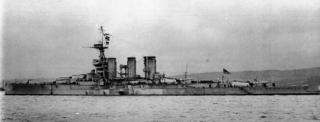 HMS <i>Tiger</i> (1913) battlecruiser of the Royal Navy
