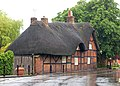 Timber-framed thatched cottage in Dunchurch - geograph.org.uk - 1342681.jpg