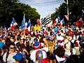 Tintamarre during National Acadian Day 2009, Caraquet New Brunswick.jpg