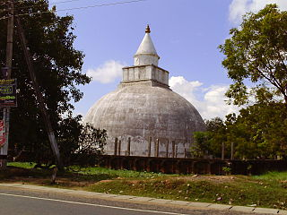 Tissamaharama Town in Southern Province, Sri Lanka
