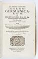 "Titelblad, 1650, ""...Rerum germanicarum, sub Ferdinandis II. & III..."" - Skoklosters slott - 93319.tif"
