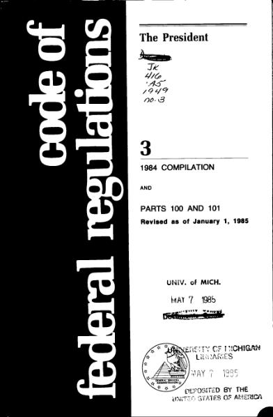 File:Title 3 CFR 1984 Compilation.djvu