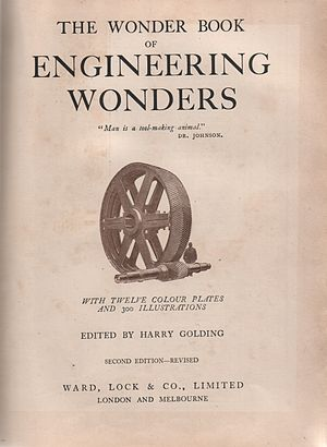 Scans from The Wonder Book of Engineering Wond...