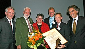 Trapp Family Austrian Relief - Trapp Family awarded in Braunau (2007)