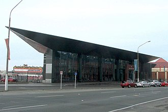Toitū Otago Settlers Museum - The new entrance wing to the gallery - the Josephine Foyer - abuts the northern end of the old complex.
