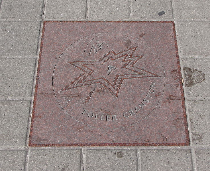 File:Toller Cranston star on Walk of Fame.jpg