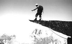 Tom Frost - Harlin atop the fou - 1963.jpg