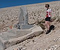 Tom Simpson memorial, Mont Ventoux, 20 September 2011 (cropped).jpg