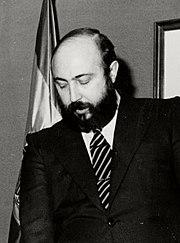 Toma de posesion del director general de la Guardia Civil. Pool Moncloa. 5 de noviembre de 1986 (cropped).jpeg