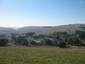 Tomales, California - Tomales, viewed from the northeast