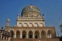 [Image: 200px-Tomb_of_Muhammad_Qutb_Shah_in_Hyde...G_4636.jpg]