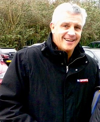 Tony Gale - Gale outside the King Power Stadium, Leicester in 2015